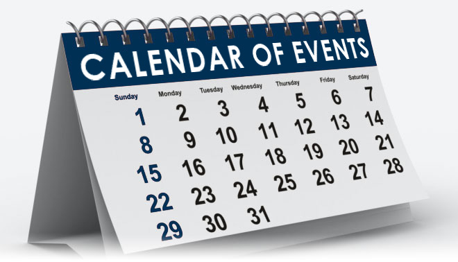 2019 Calendar - Take a look!!