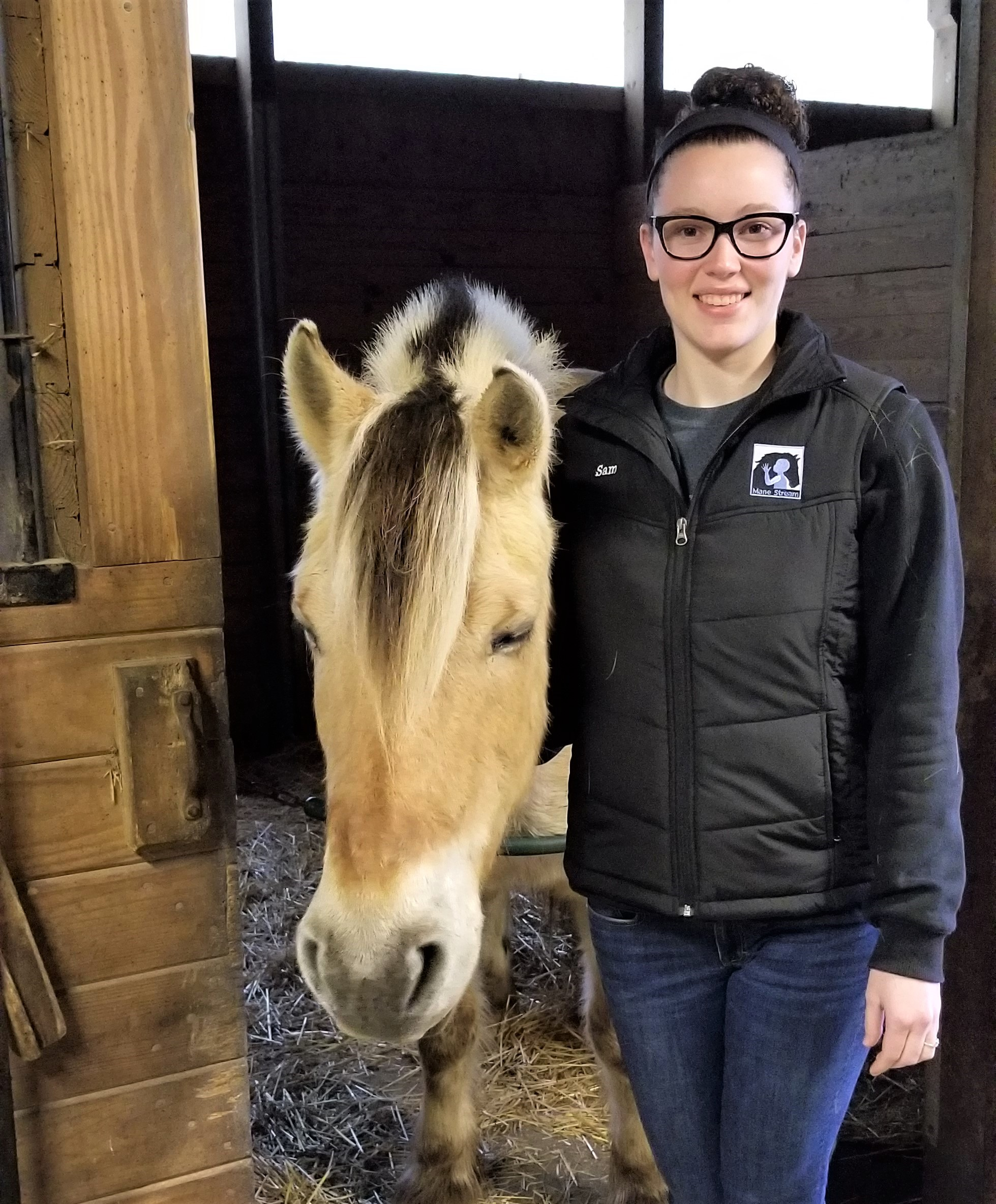 Have you seen this smiling face around the farm?   That's Sam! Our most recent OTA student who has spent the last 8 weeks learning and then doing everything under the sun.