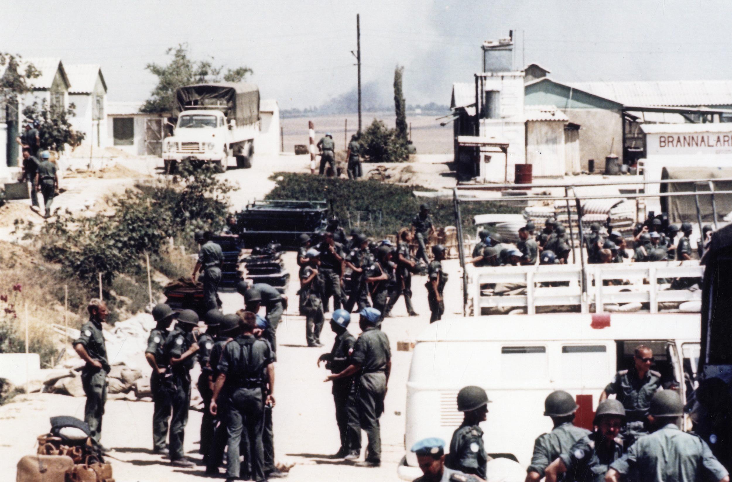Evakuering av Hill 88.