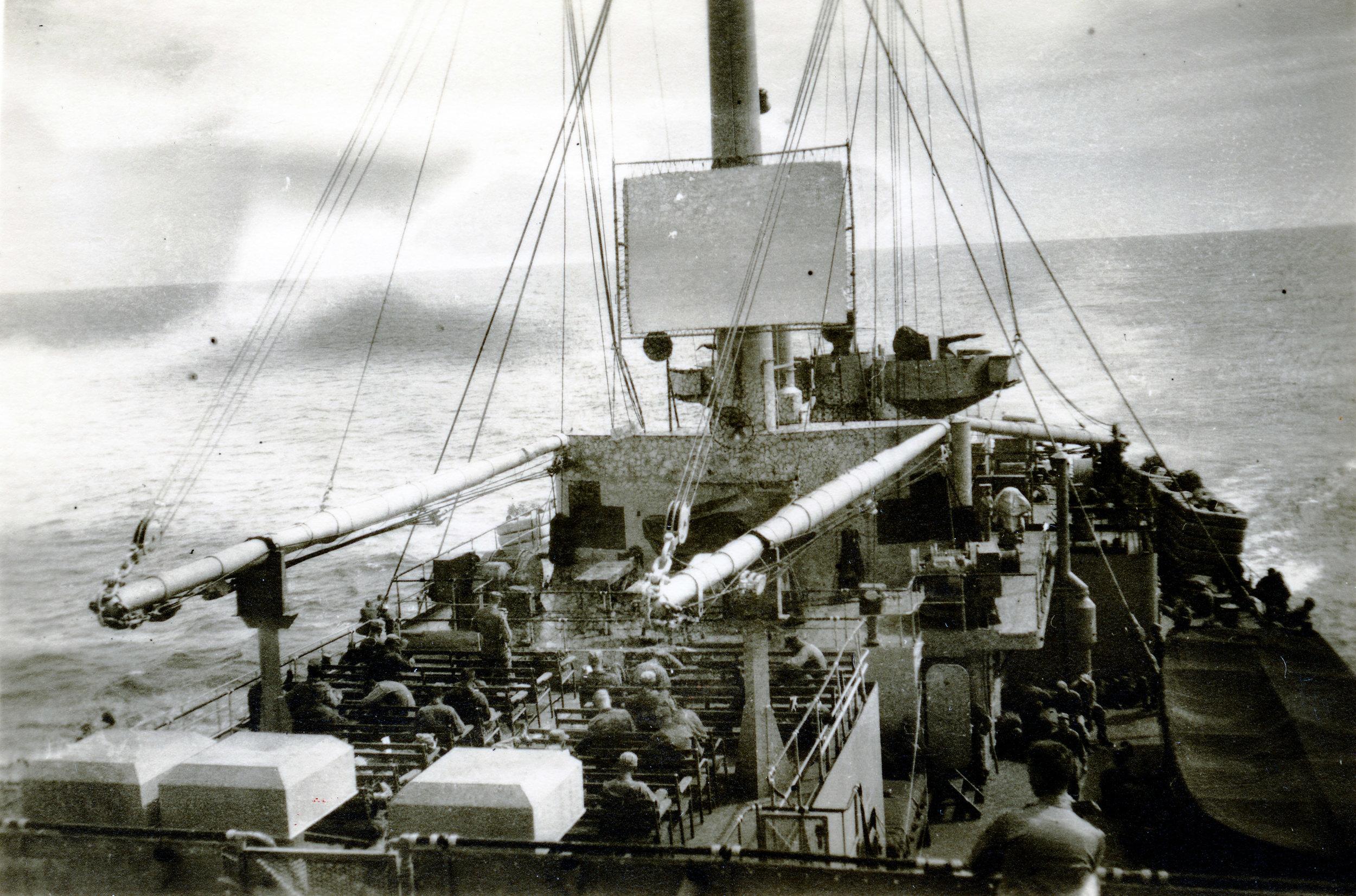 Ombord på General Anderson