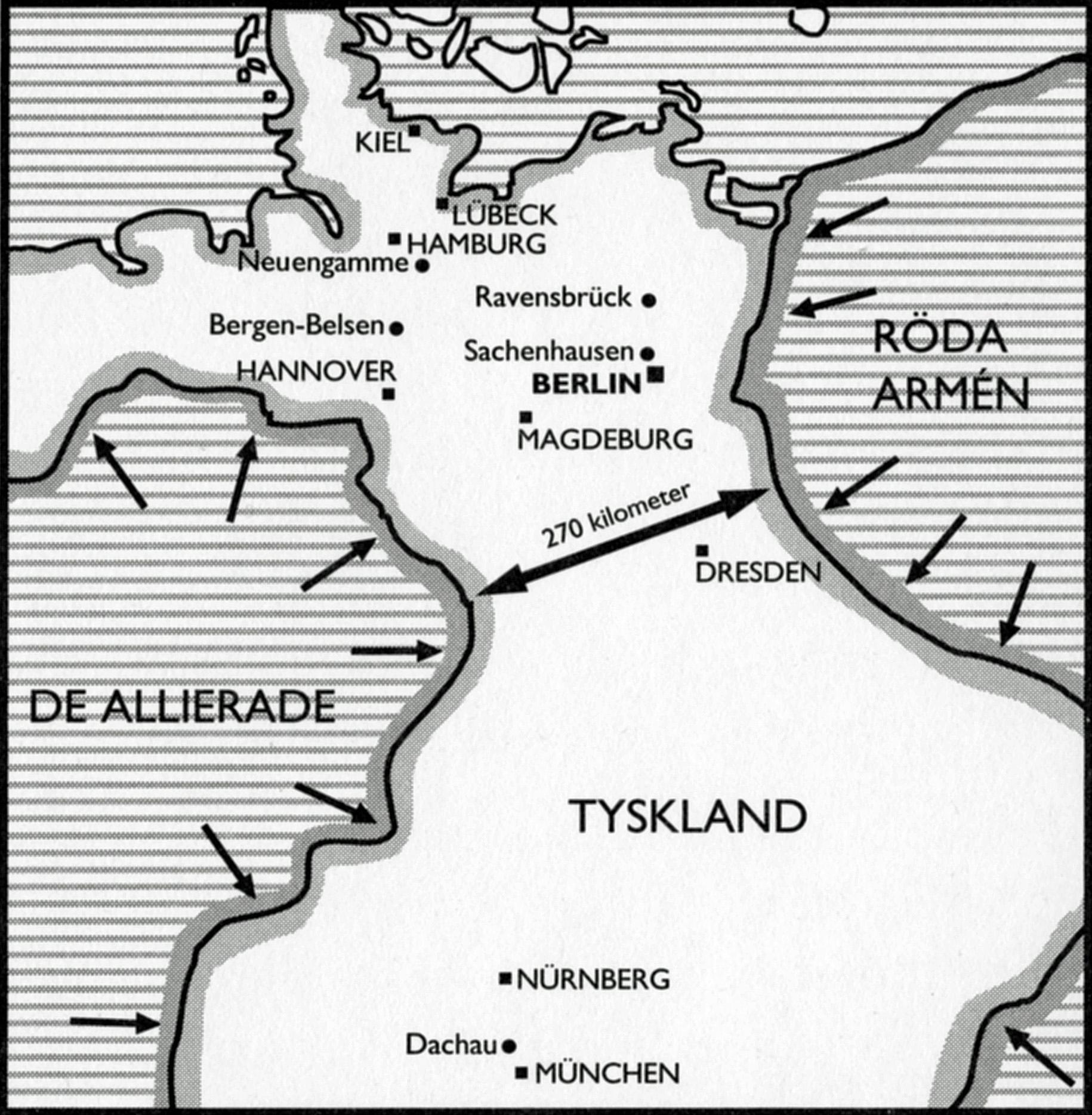 Karta tagen från  Löjtnant Hallquists dagbok