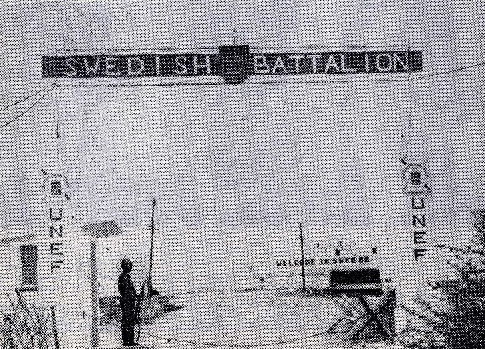 Spökbilden som hittades när bataljonsfotografens filmrulle skulle framkallas / Foto: ur Sandpappret
