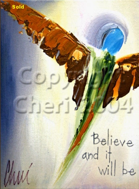 Angel - Believe and it Will Be Series