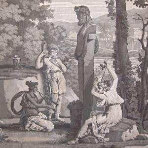 Fetes de la Grece et Je  ux Olympique, 1818