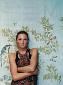 "April 2005  New York Magazine, ""Stepdaddy's Little Girl""  Designer: Maggie Rizer"