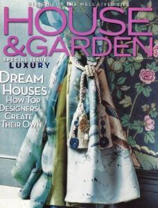 """September 2004  House & Garden, """" Designers Create Their Own""""  Designer: Charlotte Moss  Gracie"""