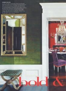 "October 2004  Vogue, ""Bold & Beautiful""  Designer: Daniel Romauldez  Gracie"