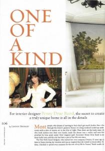 "December 2005  Palm Beach Cottage and Garden, ""One of a Kind""  Designer: Penny Drue Baird  Zuber"