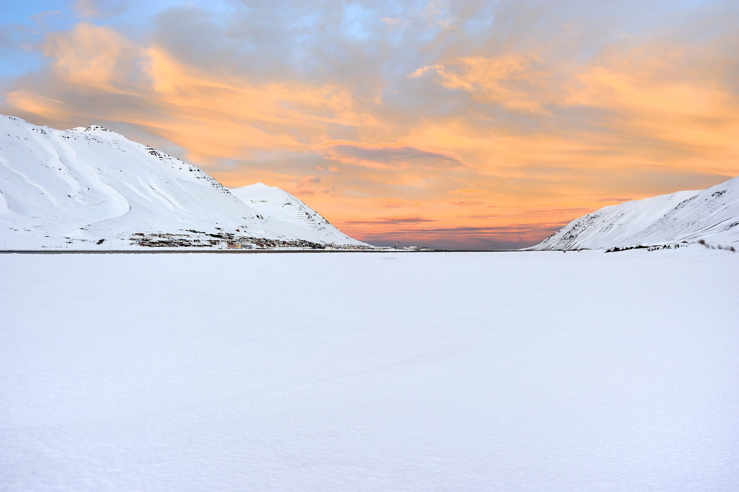The town of Siglufjordur in Iceland. Photo © Sigurður Ægisson