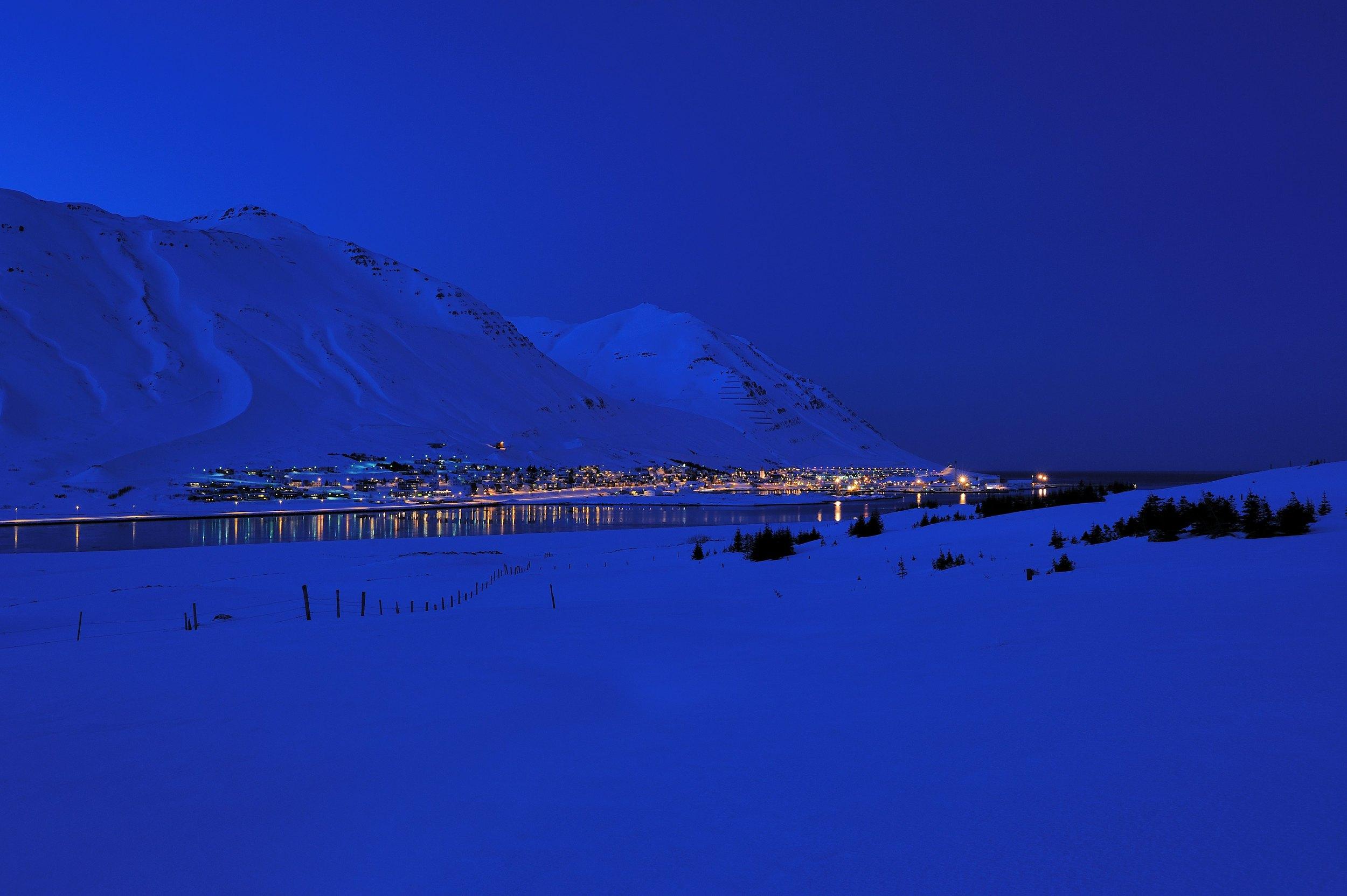 The setting of the Dark Iceland Series - Siglufjörður. Photo © Sigurður Ægisson