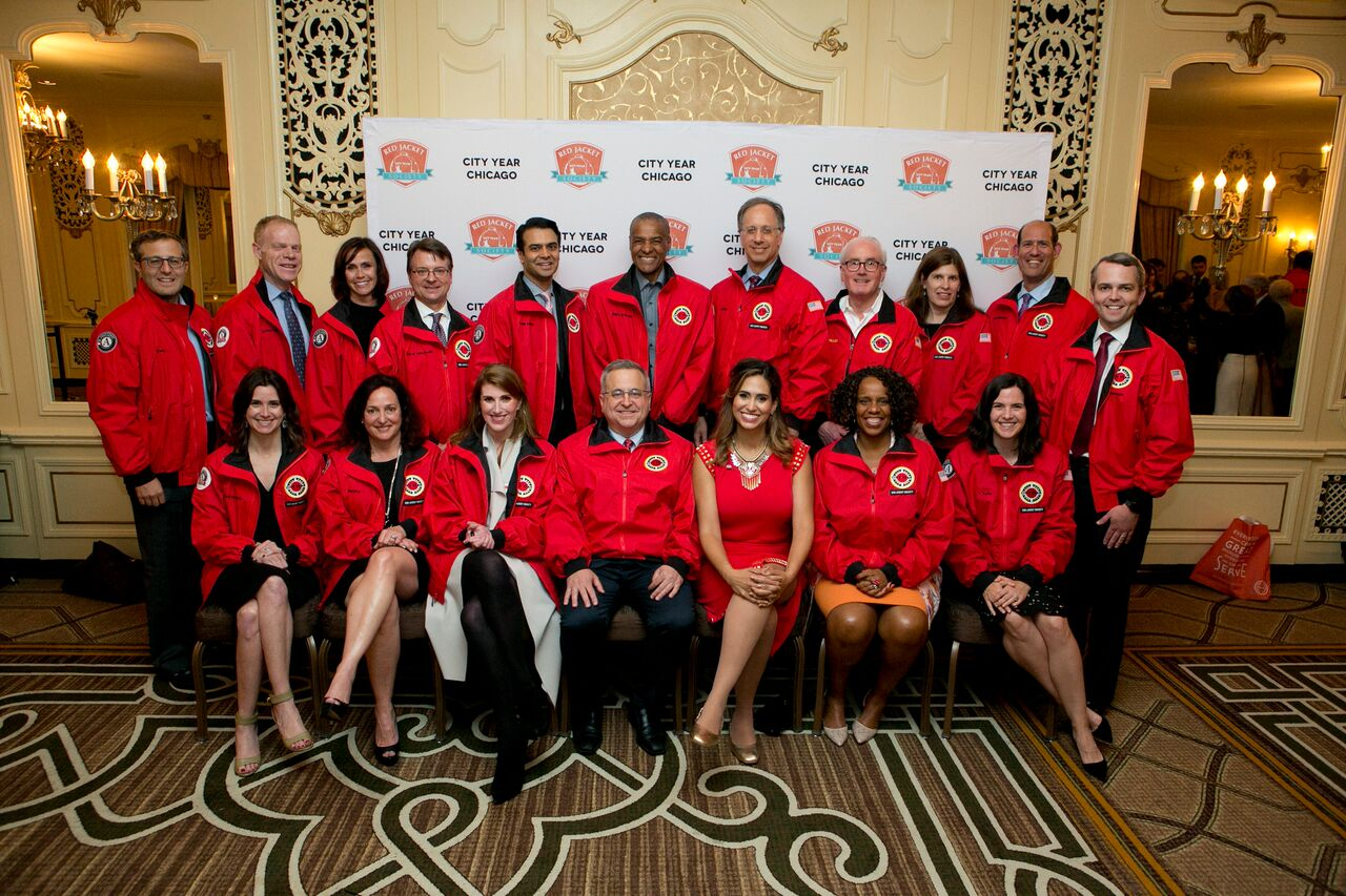 Group Photo of City Year Chicago RJS Members