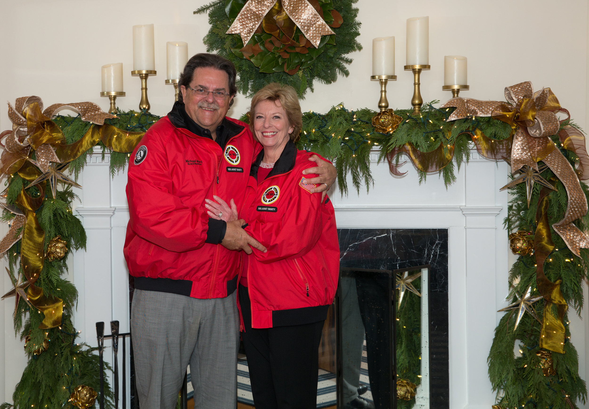City Year Jacksonville RJS Chair Michael Ward and Jennifer Glock