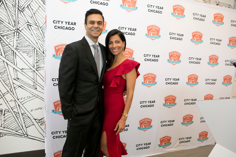 City Year Chicago RJS Chairs Sonal and Ravin Gandhi