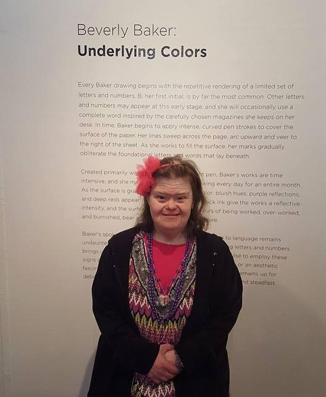 Beverly Baker at the opening night of  Underlying Colors  (2017)