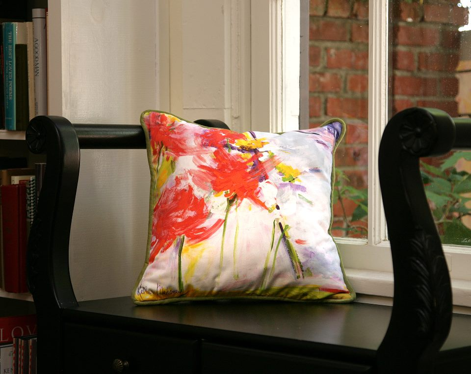"""Wayside Bouquet"" Pillow Photo by Casalini"