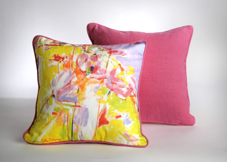 """Cosmos"" Pillow Photo by Casalini"