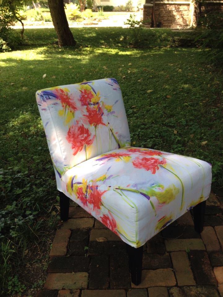 """Wayside Bouquet"" Slipcover Prototype"