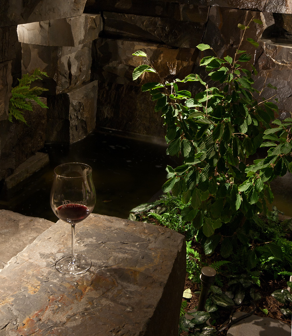 Enjoy a glass of wine or stroll through your property