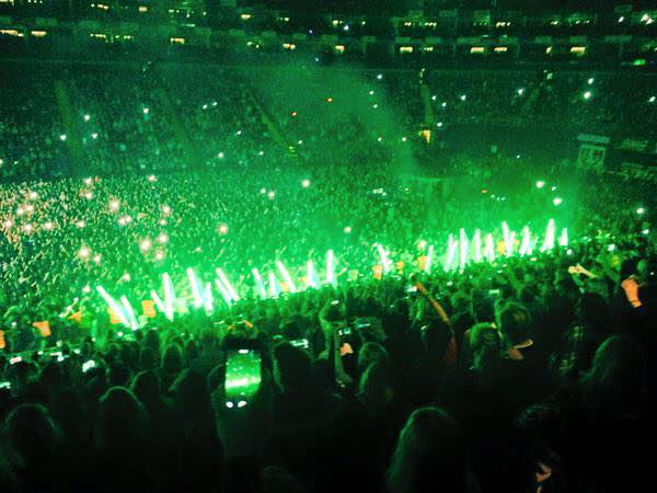 The Script at London's O2 Arena.