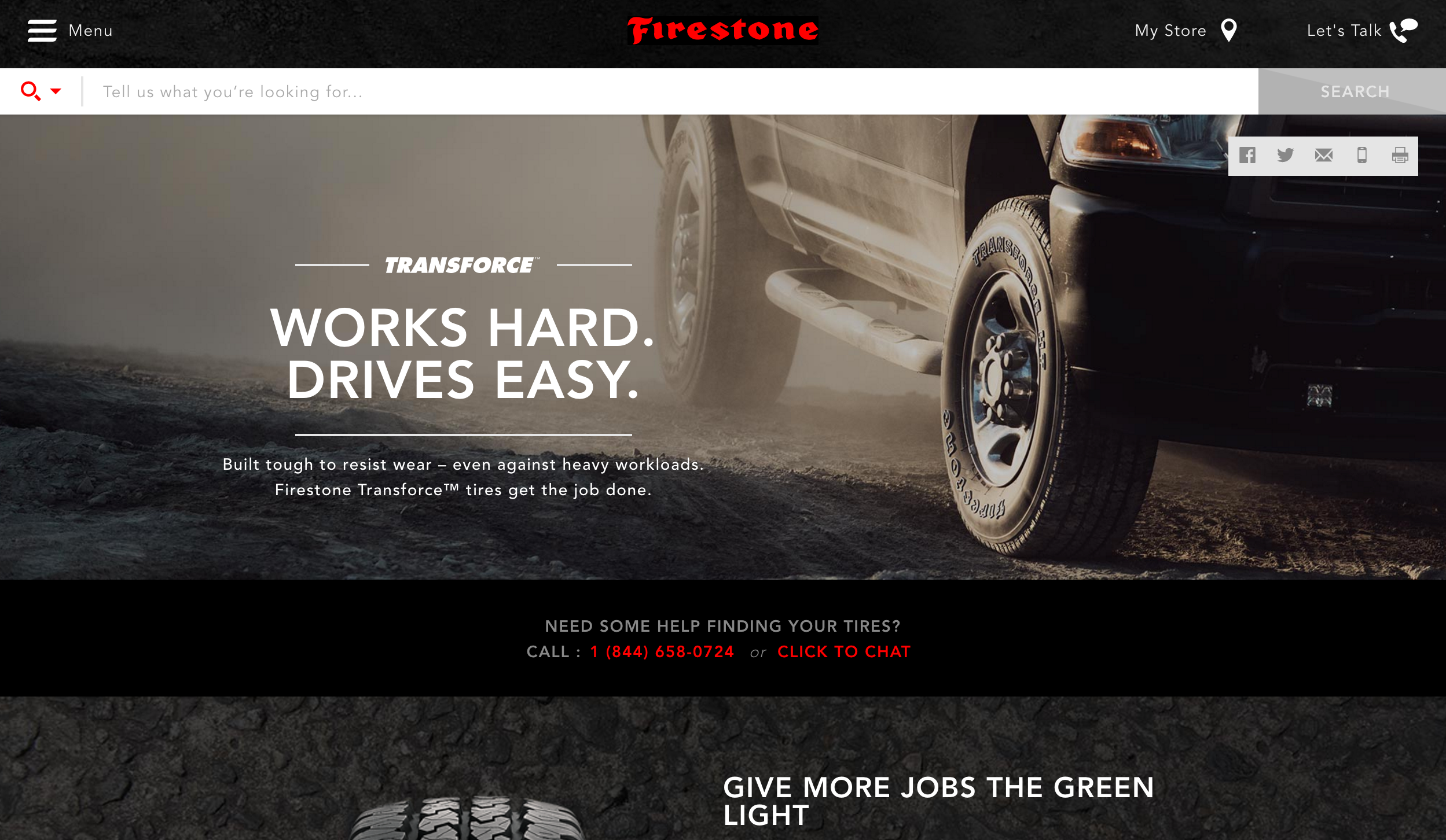Transforce  Tire Page