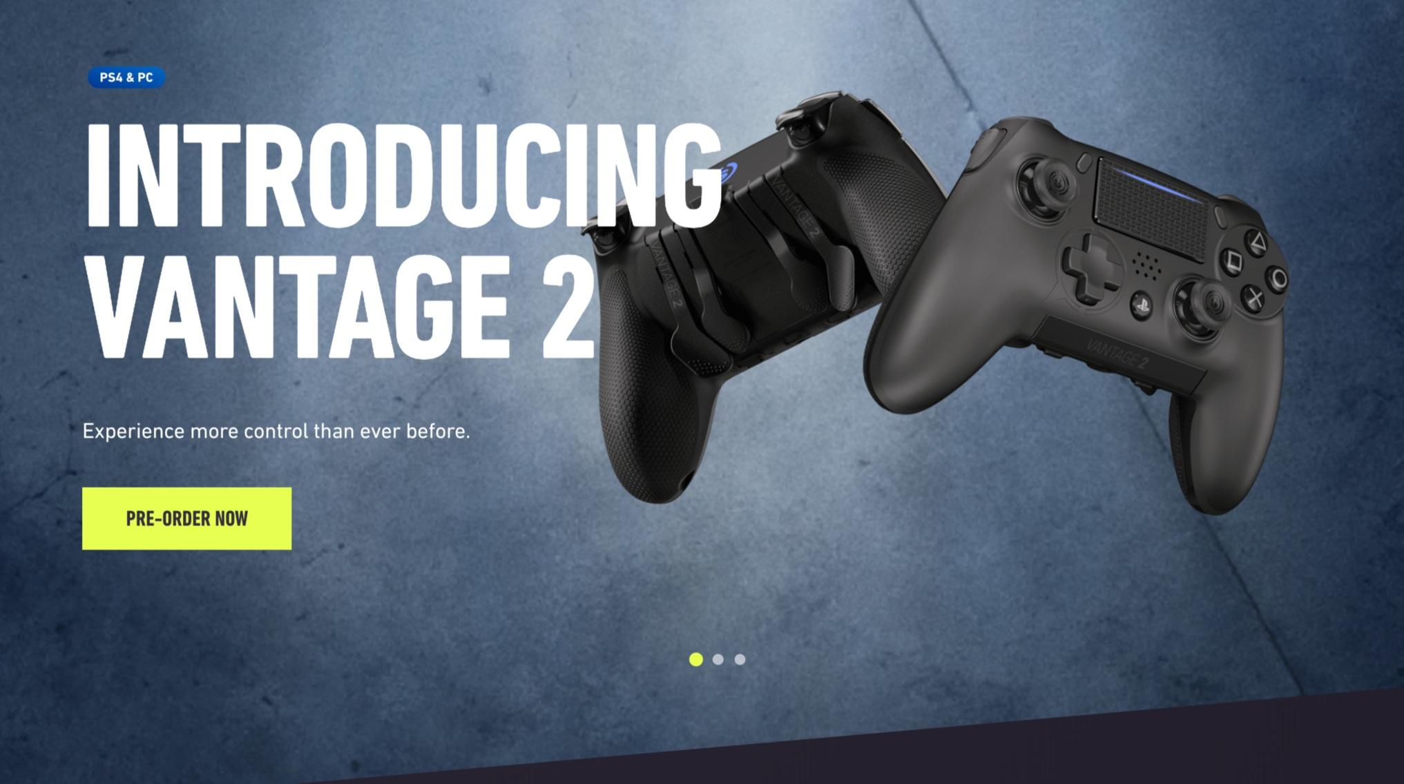 SCUF Vantage 2 Launch/Rebrand