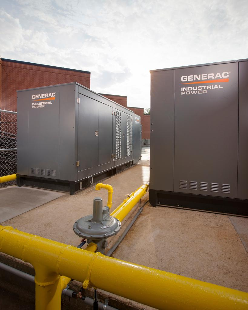 Backup generators come in all shapes and sizes, from small portables to Multi-Mega-Watt industrial units.