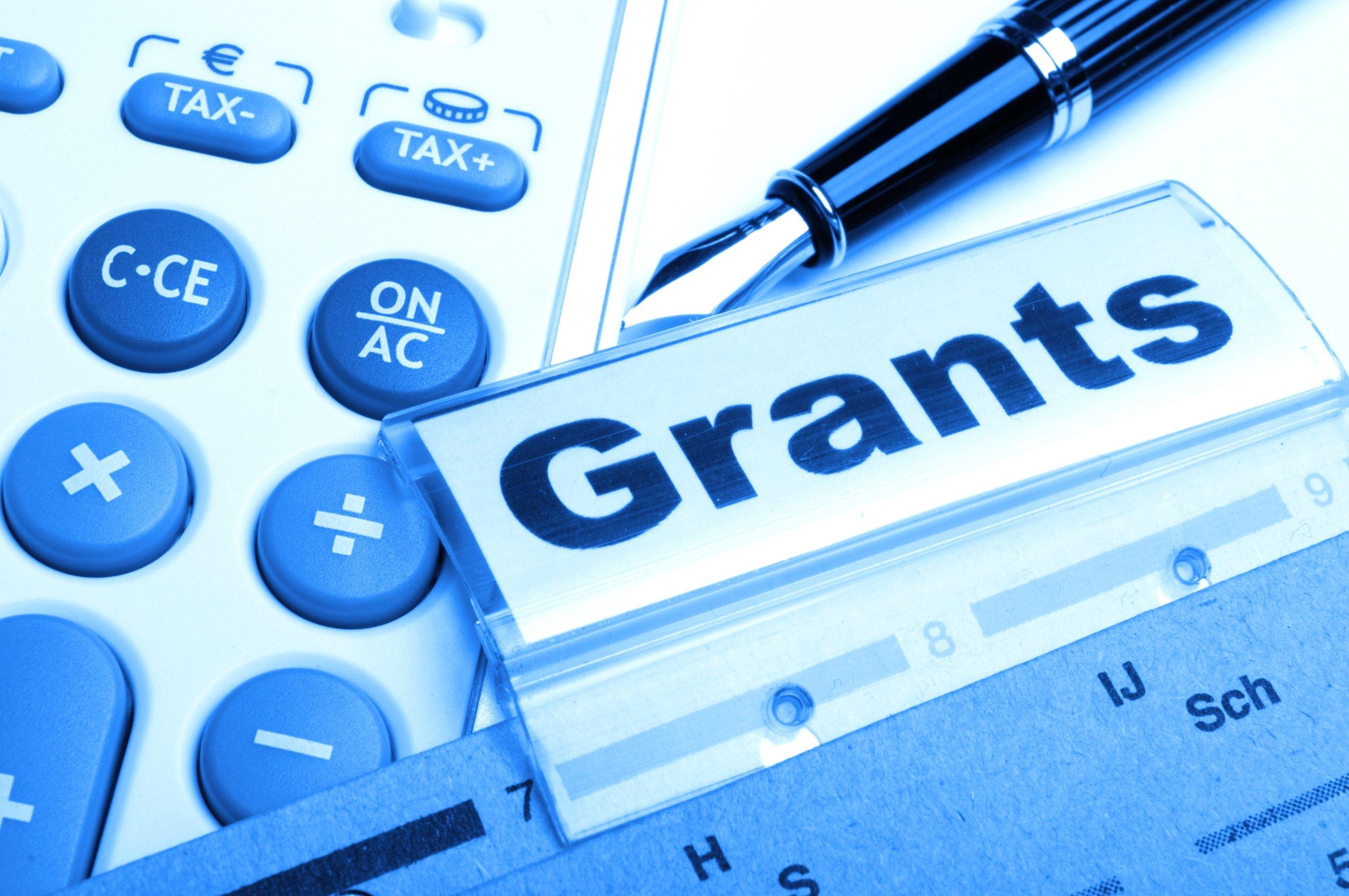 grant money for backup generators