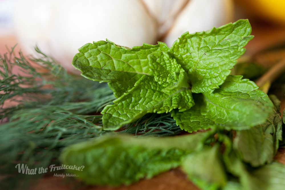 Fresh mint? Or peppery dill? Tzatziki is delicious either way.