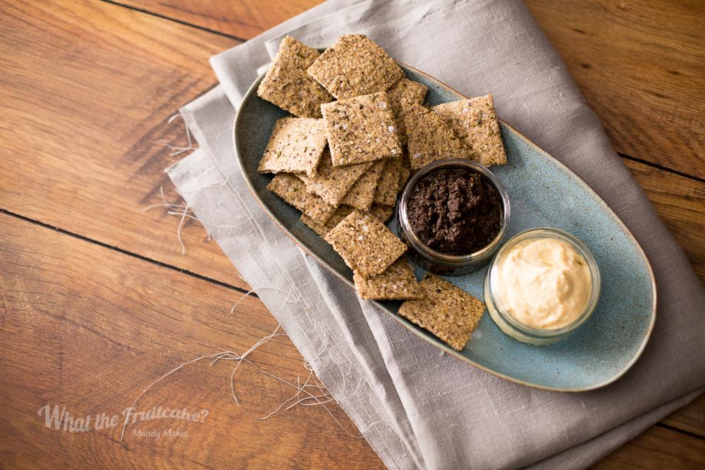 Rosemary Oat Crackers