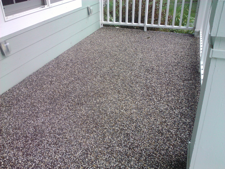 Pebble Stone Epoxy Floors Custom