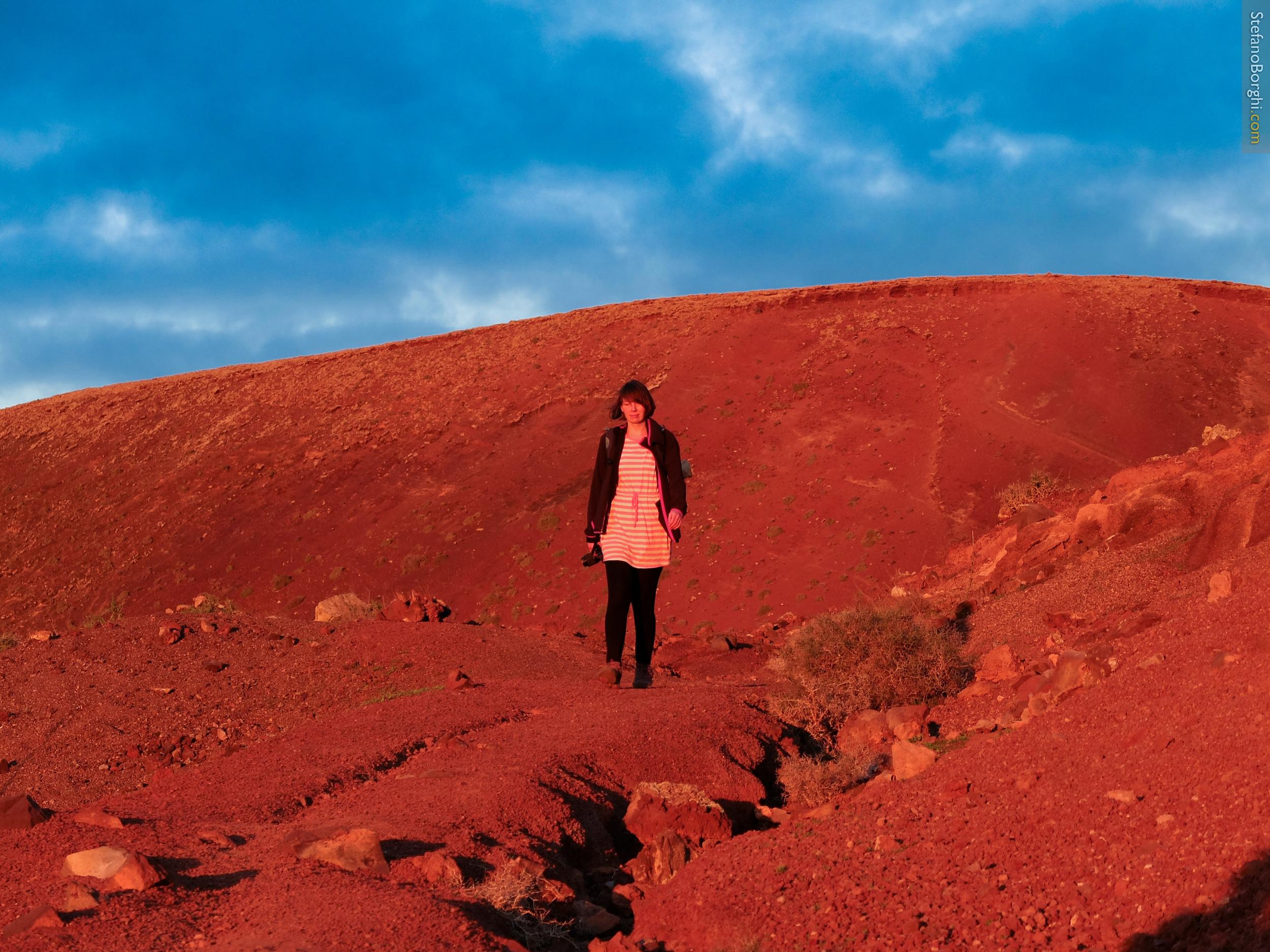 a walk in mars from corralejo