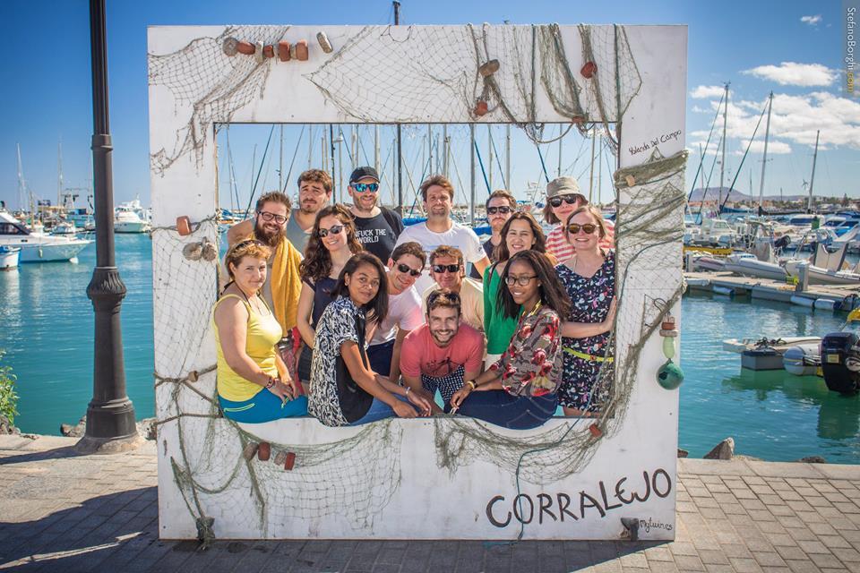 company retreats. Canary Islands