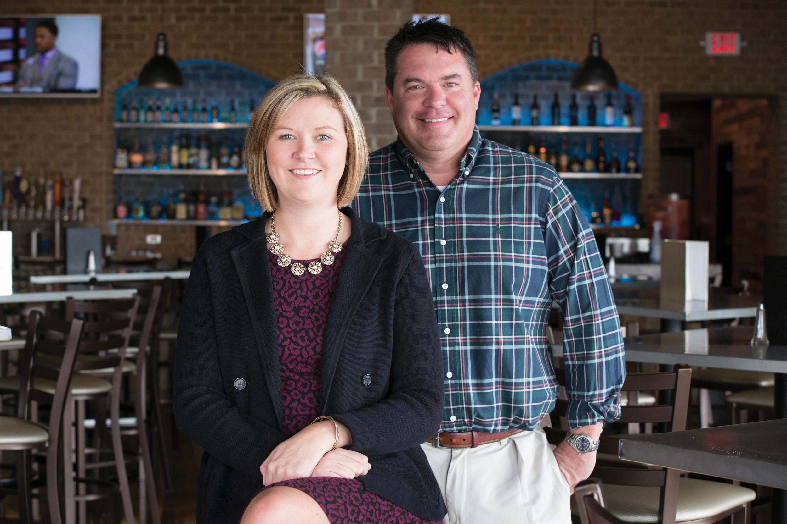 Jodi Sears and Darren Phillips