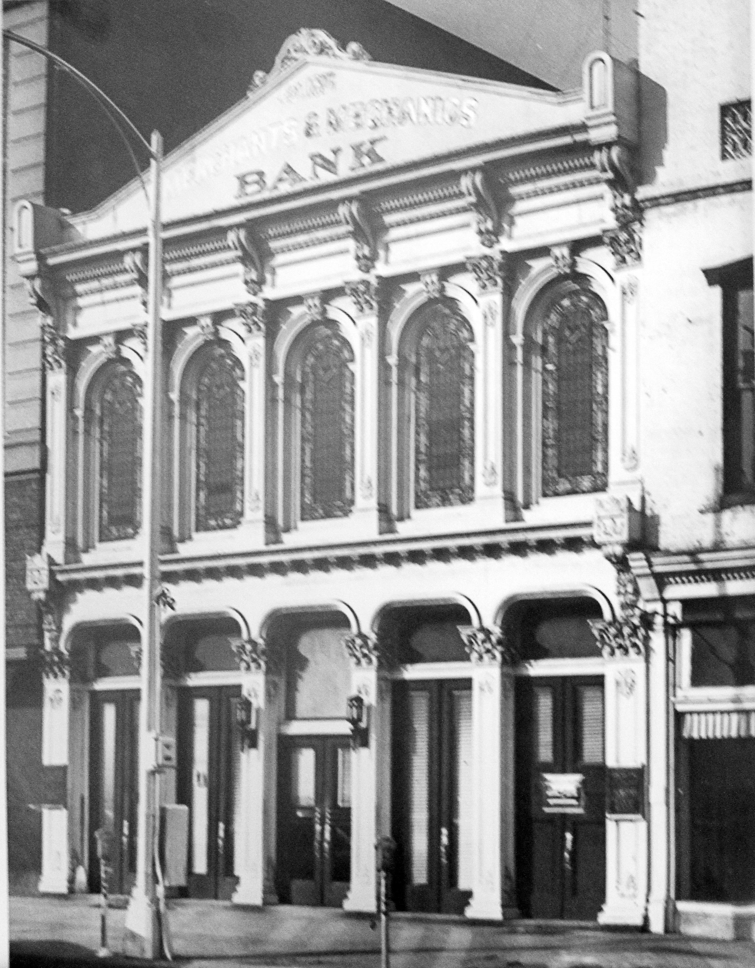Merchants and Mechanics Bank.