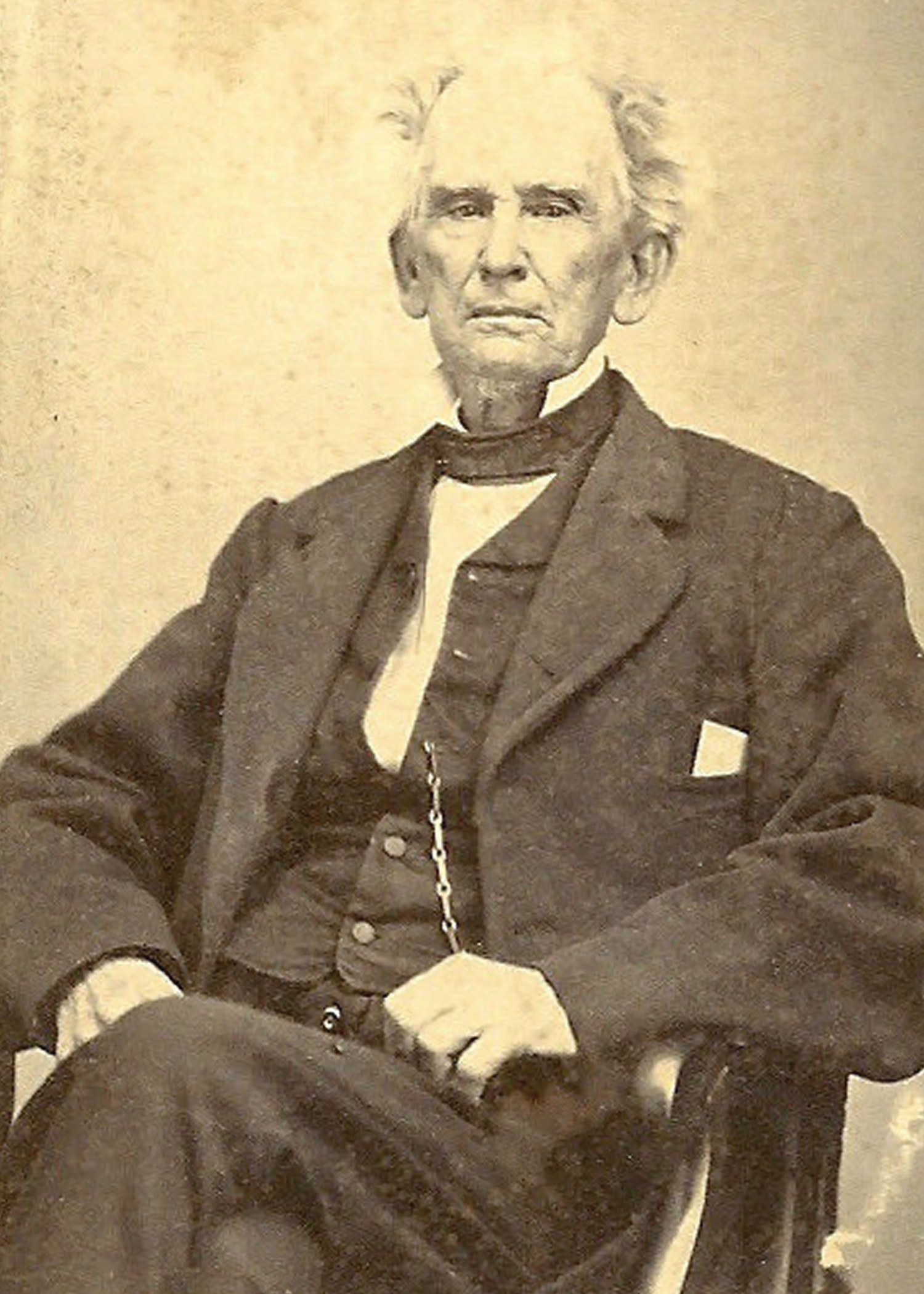 Rev. Dr. Lovick Pierce is considered the father of Methodism in Georgia.