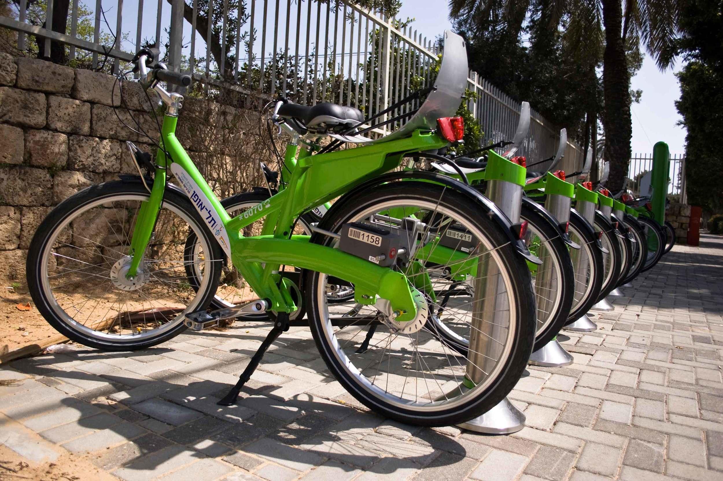 Bike sharing station
