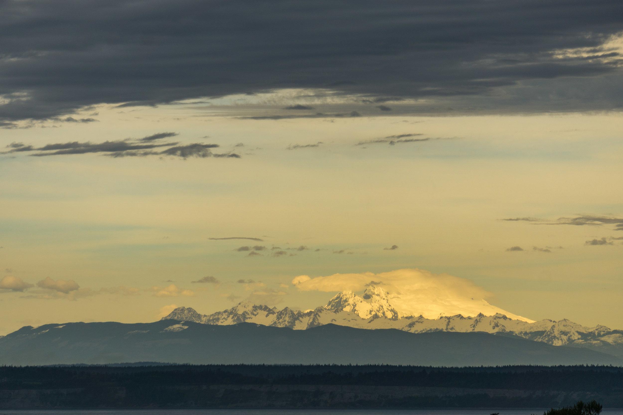 Mt. Baker Clouds, 2016