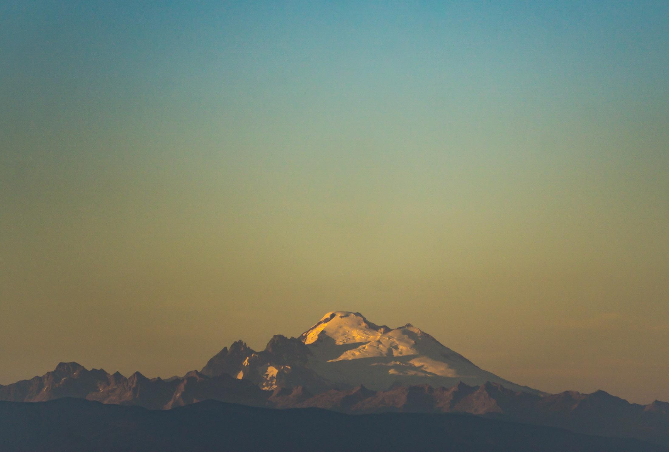 Mt. Baker Sunset, 2016
