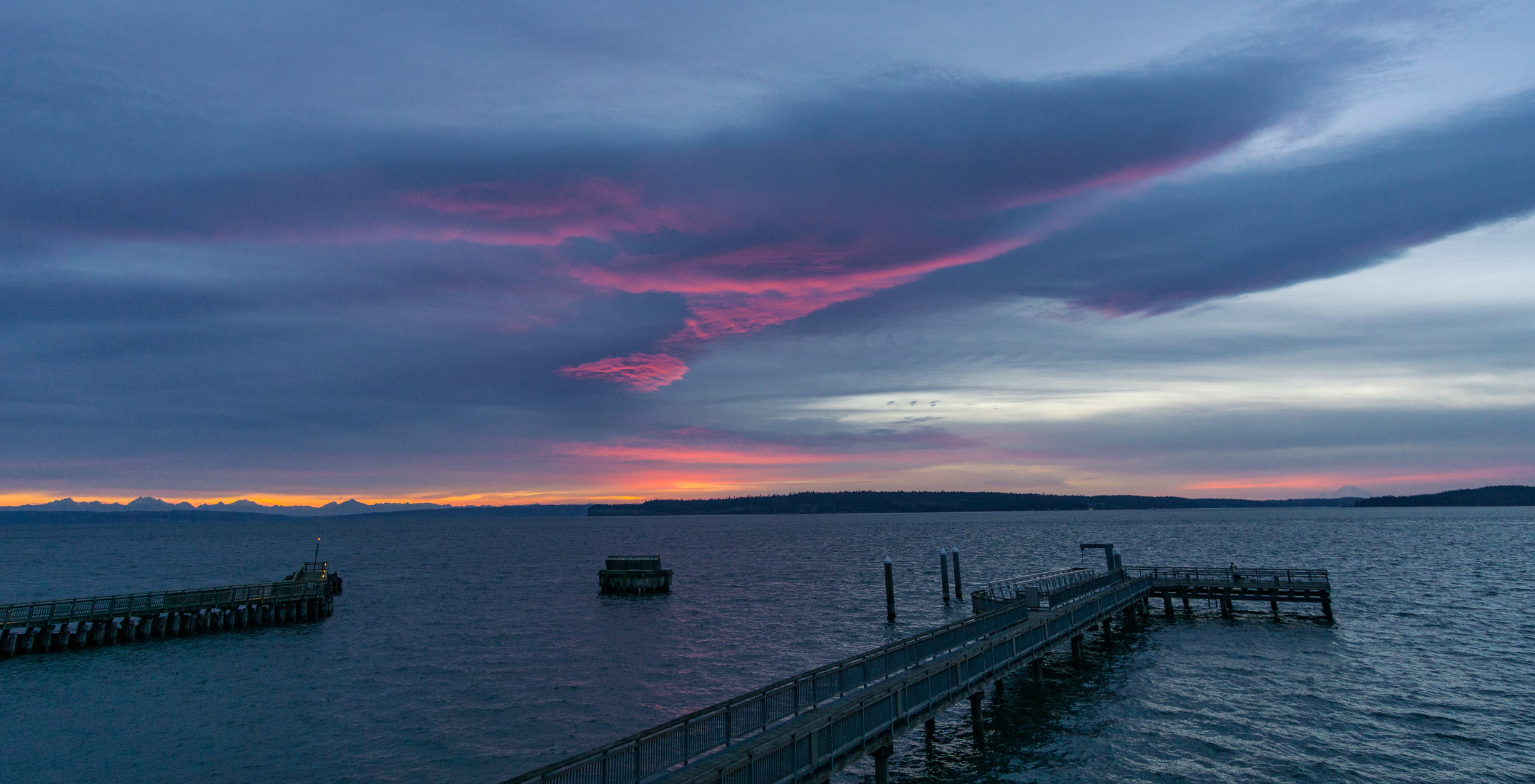 Sunrise, Port Townsend, 2016