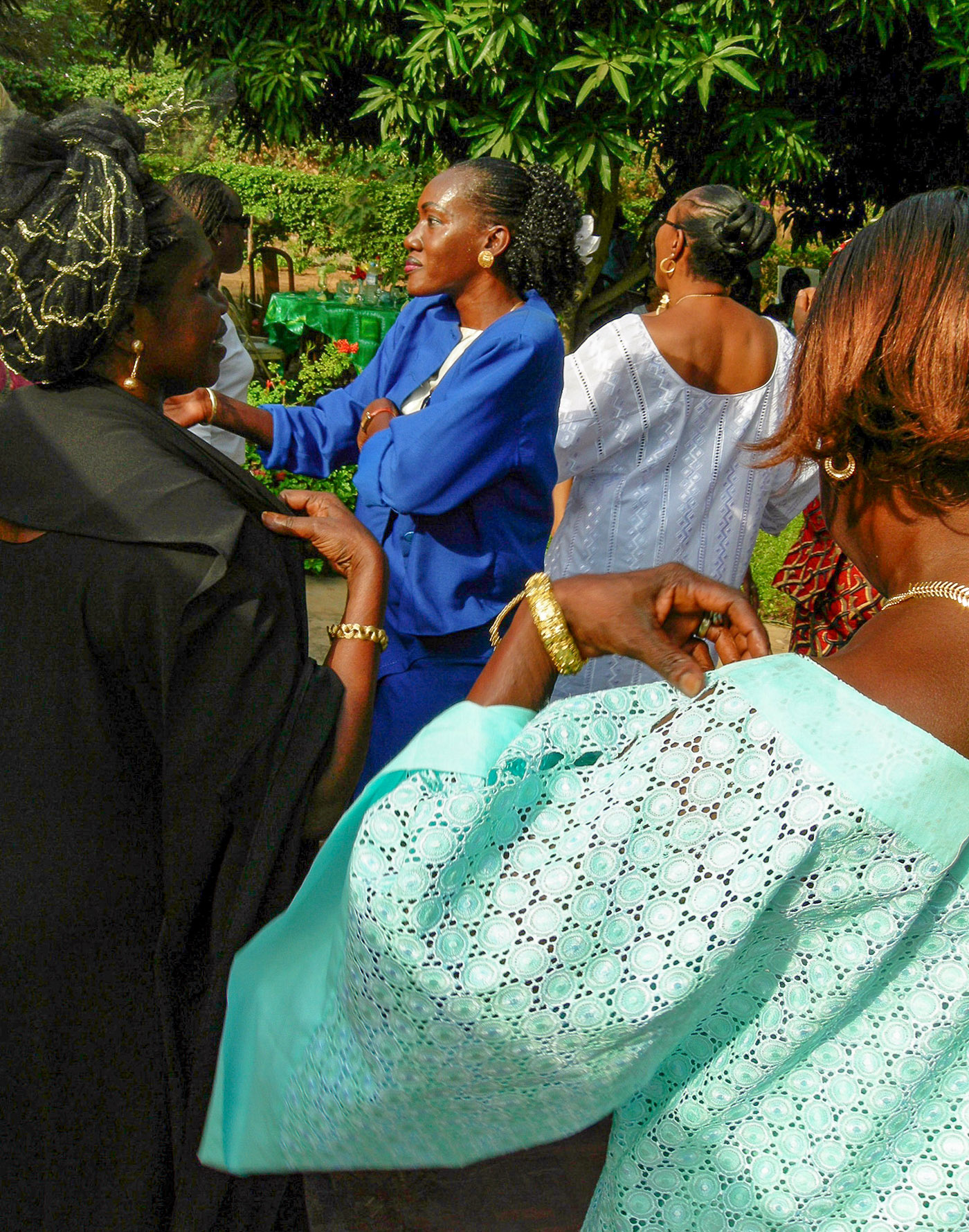 Garden Party, Dakar, Senegal, 2005