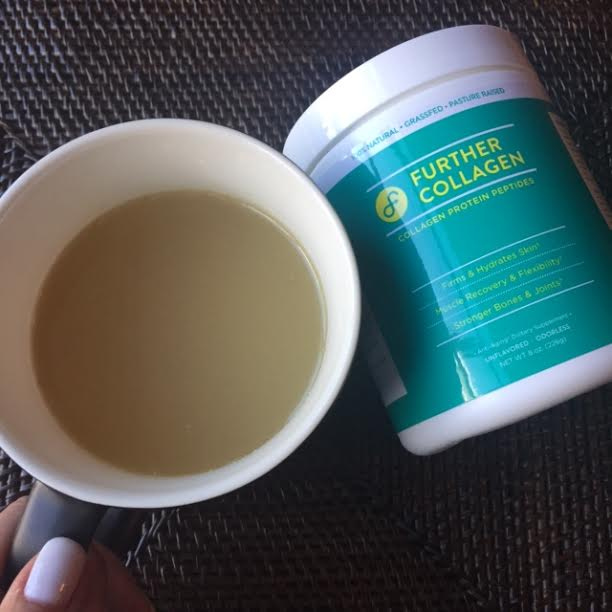 Turkey Bone Broth with a scoop of Further Collagen - so good !