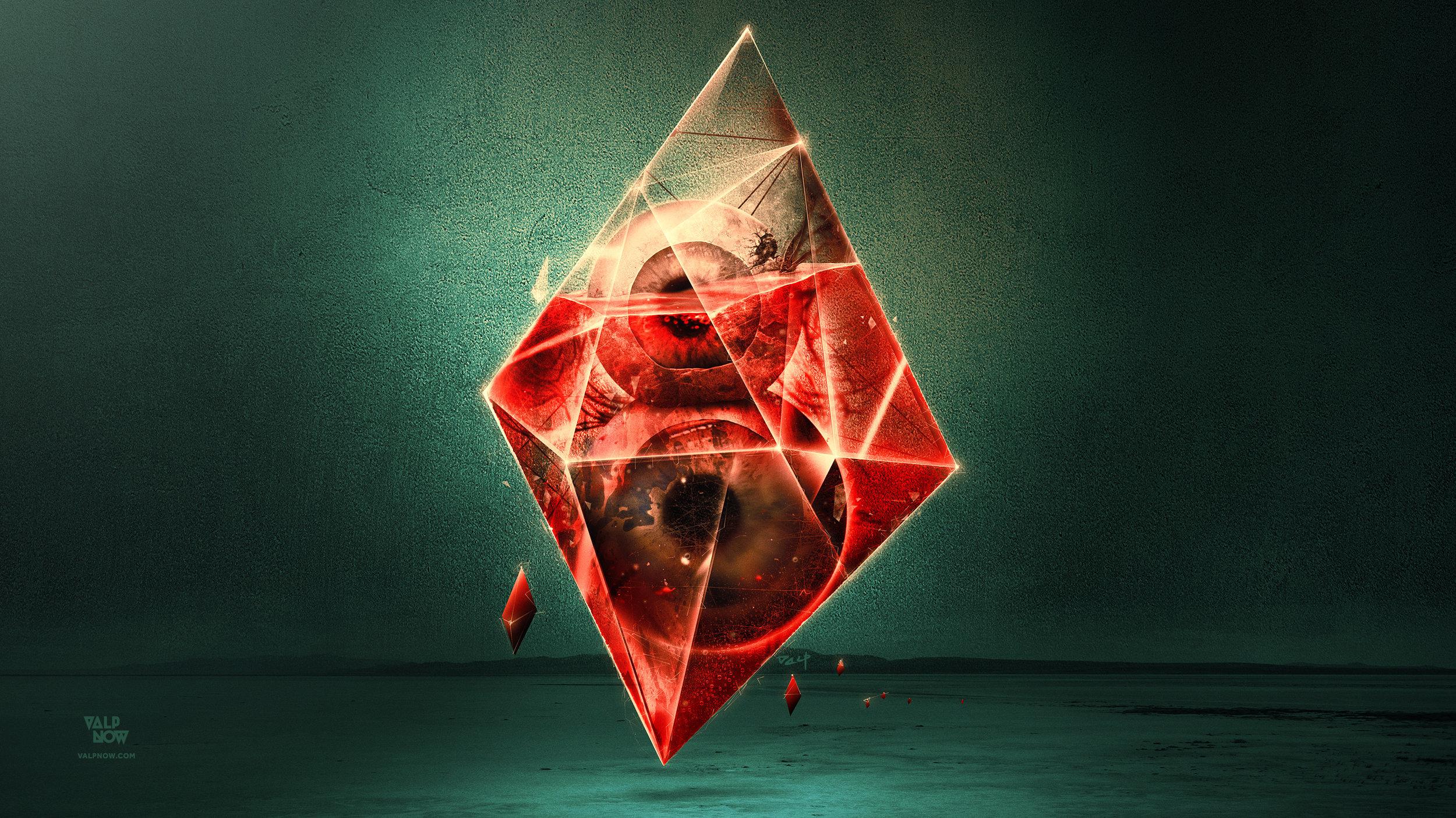 Eye'ght (8) of Diamonds