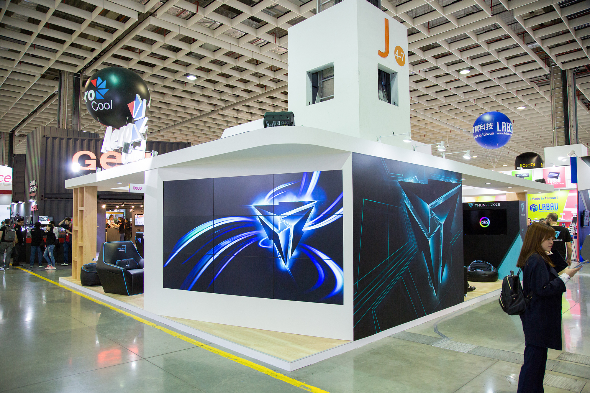 Computex exhibition booth