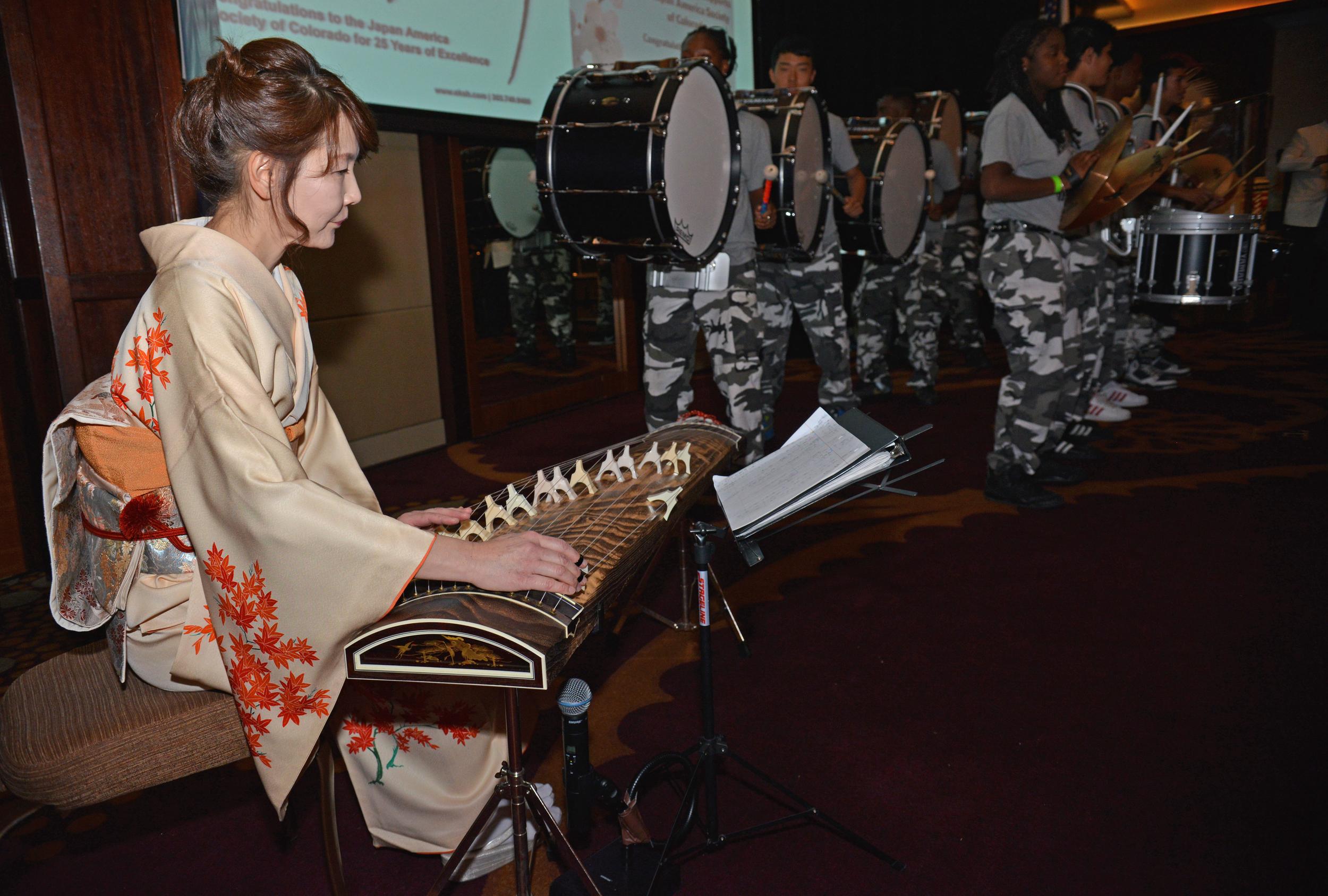 Koto and Drumline