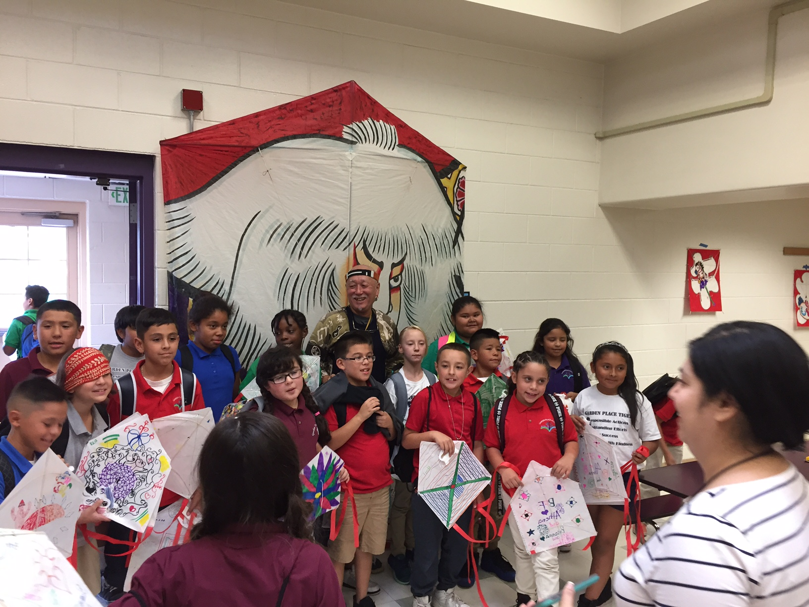 2016 Japanese Kite Making Workshops in Denver Public Schools
