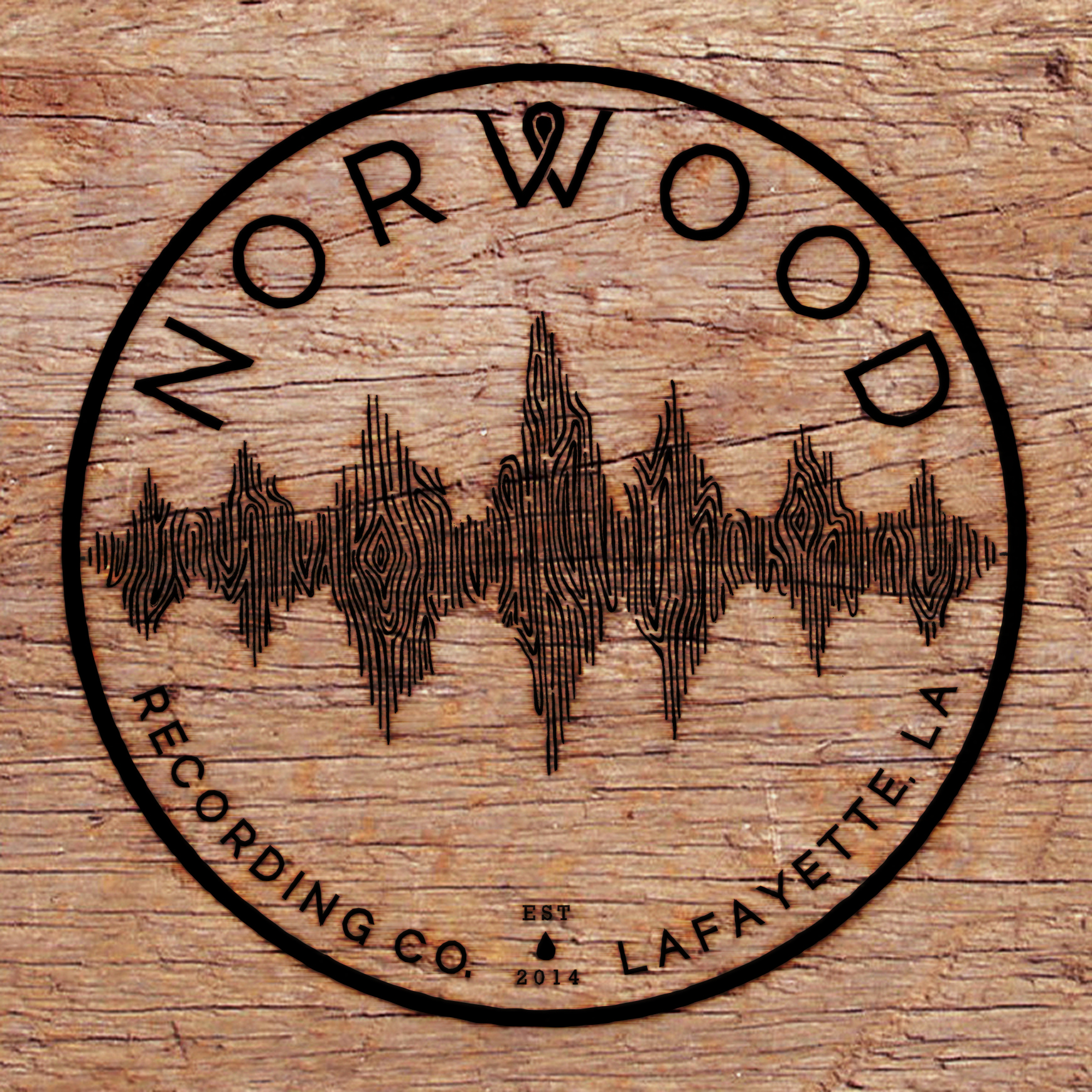 Woodburn concept for Norwood Recording Co. 2015