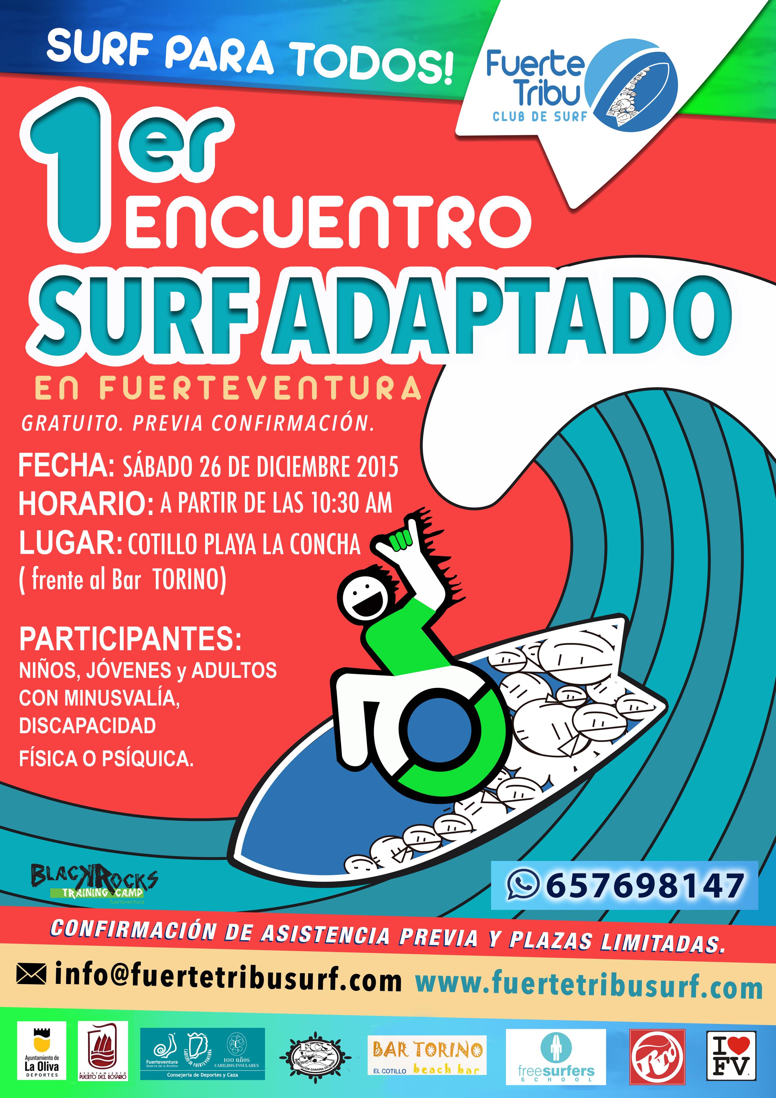 26 DICIEMBRE 2015, 10:30 H, PLAYA DEL COTILLO , LA CONCHA. EVENTO GRATUITO, PREVIA CONFIRMACIÓN