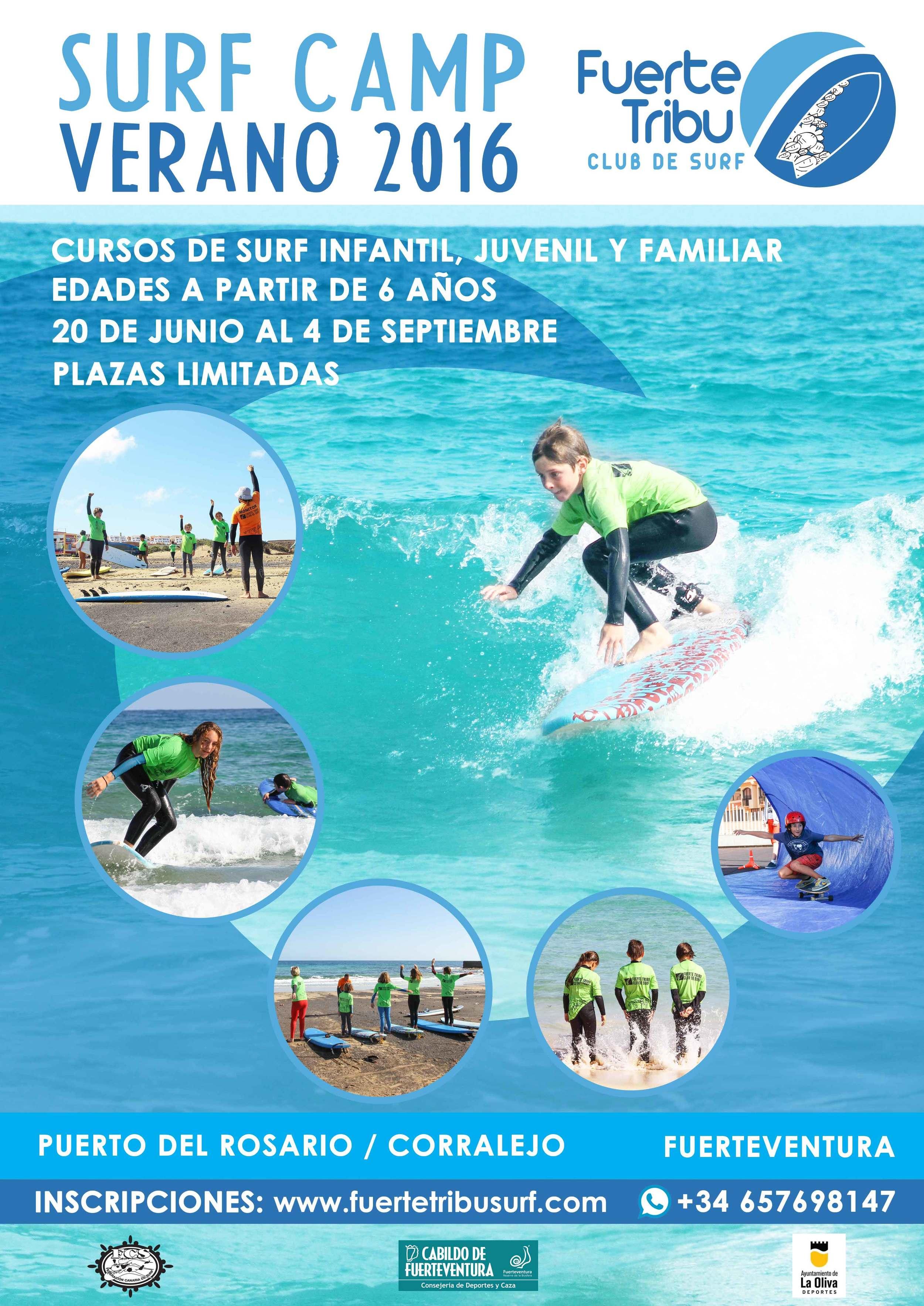 SURF CAMP VERANO  FUERTEVENTURA