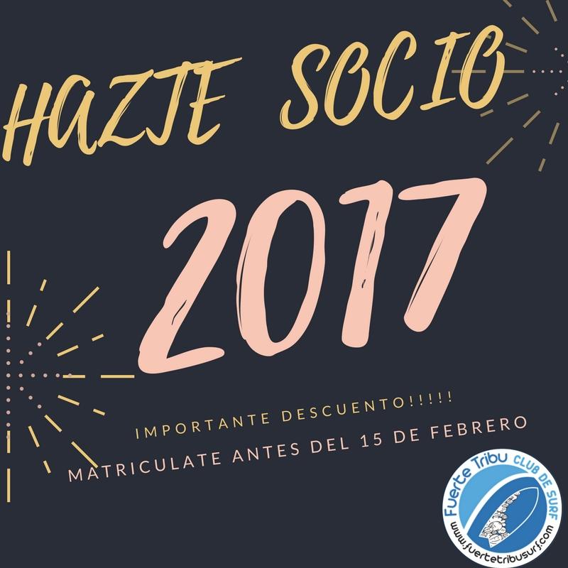 Hazte socio 2017