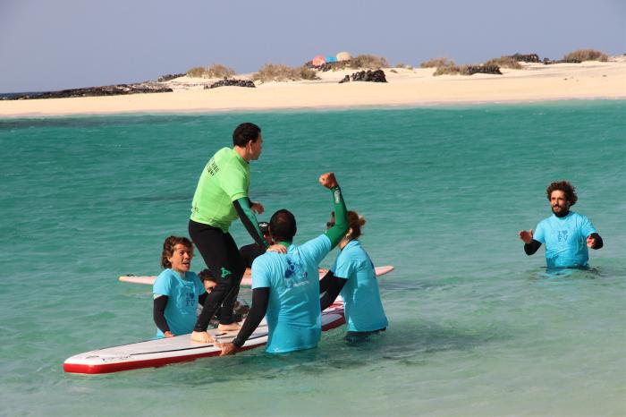 Surf adaptado. Surfing for everyone